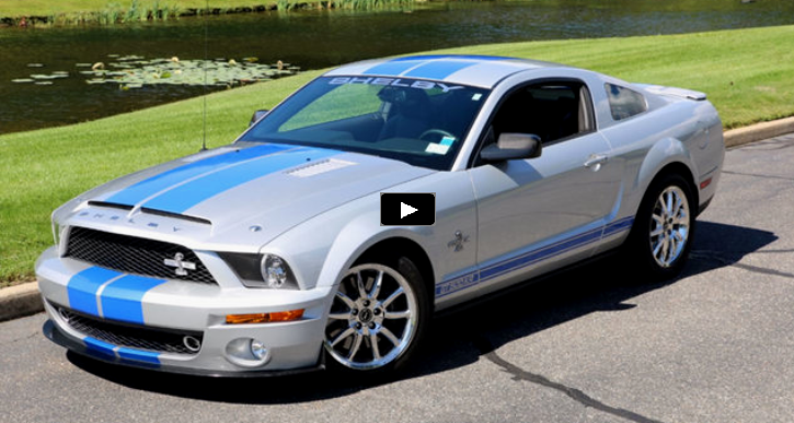 2008 ford mustang shelby gt500kr video review