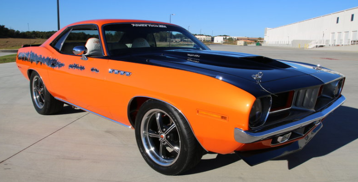 1974 plymouth cuda 512 six pack