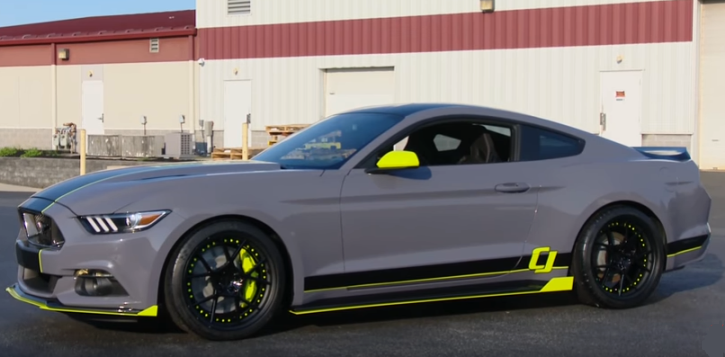 cj pony parts 2017 ecoboost mustang build