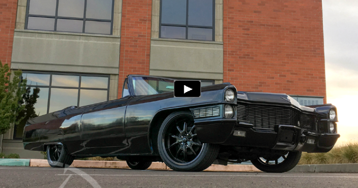 custom built 1965 cadillac coupe deville lsx convertible