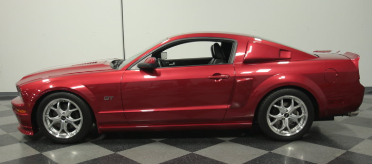 modified 2005 ford mustang dream car factory