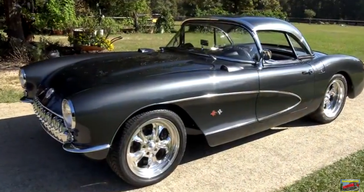 custom built 1957 chevrolet corvette ls2