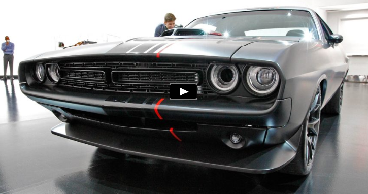 dodge shakedown challenger official video review