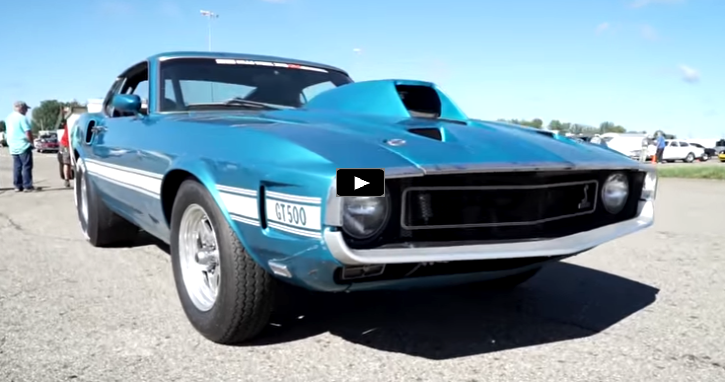 all motor shelby mustang gt500 drag racing