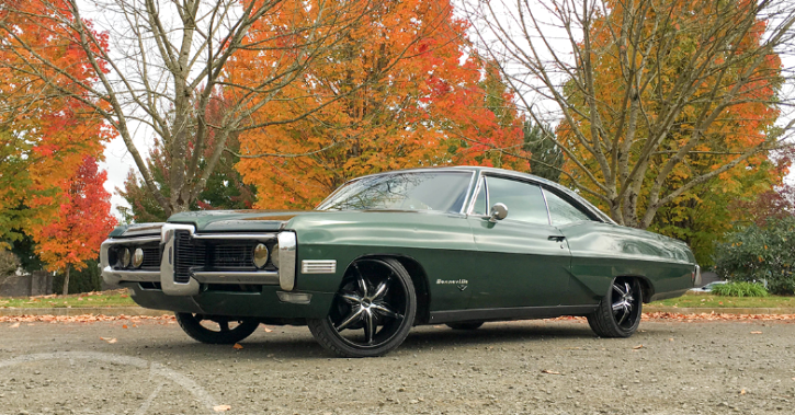 1968 pontiac bonneville custom coupe
