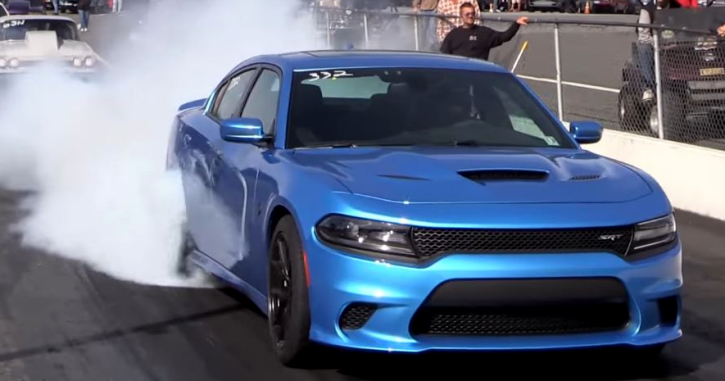 high horse performance dodge hellcat charger drag racing