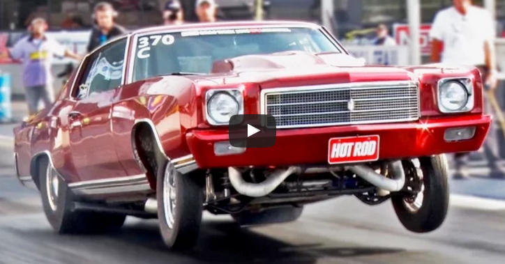 2000hp twin turbo chevy monte carlo at drag week