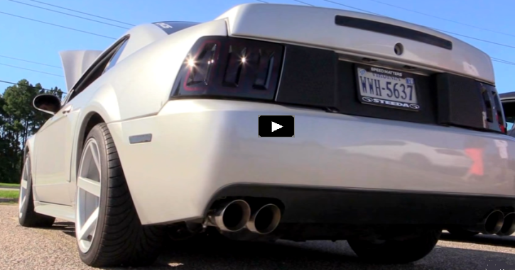 coyote powered 2001 mustang gt borla exhaust