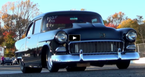 tri five chevrolet fat 55 drag racing