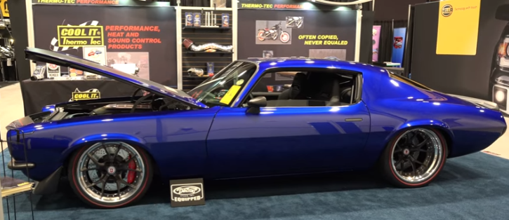 Award Winning 1971 Camaro Quot Enigma Quot At Sema 2016 Hot Cars