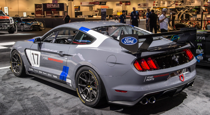 new ford mustang gt4 overview