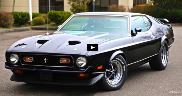 1971 ford mustang mach 1 test drive