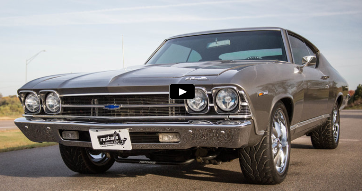 pro touring 1969 chevy chevelle ss 454