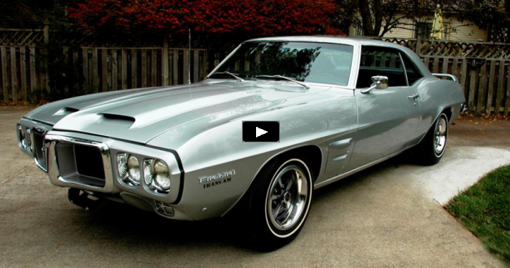 original 1969 pontiac firebird trans am prototype