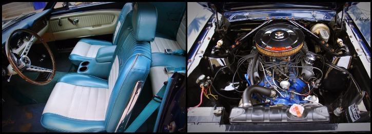 c-coded 1966 mustang coupe restored