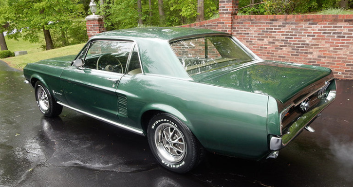 original 1967 mustang t5 limited edition