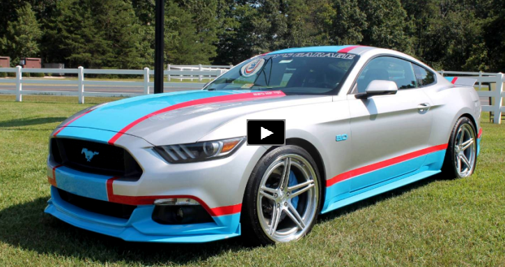 2017 Mustang Richard Petty 80th Tribute Edition Hot Cars