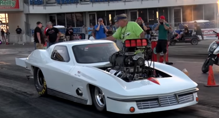 blown big block c2 corvette american outlaw live