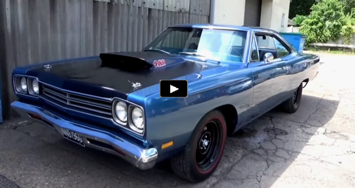 rare 1969 plymouth road runner a12 numbers matching