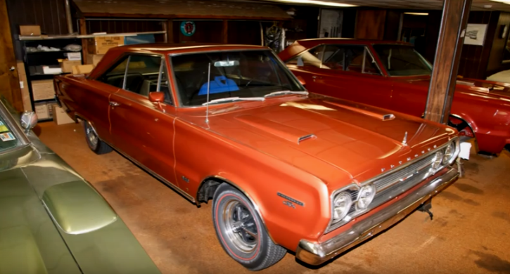 Incredible Collection Of Rare Mopar Muscle Cars