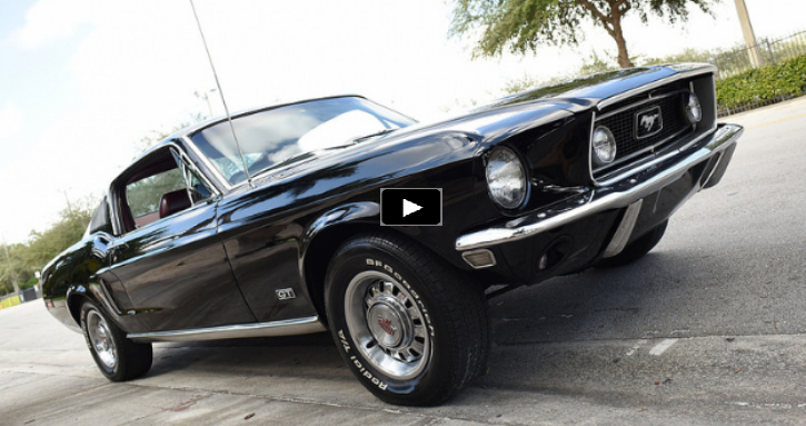 unique 1968 ford mustang j-code