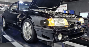 twin turbo fox body mustang sleeper