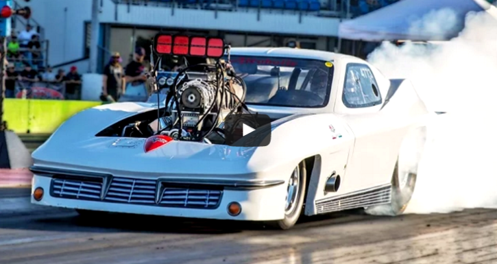 1963 corvette alcoholic drag racing