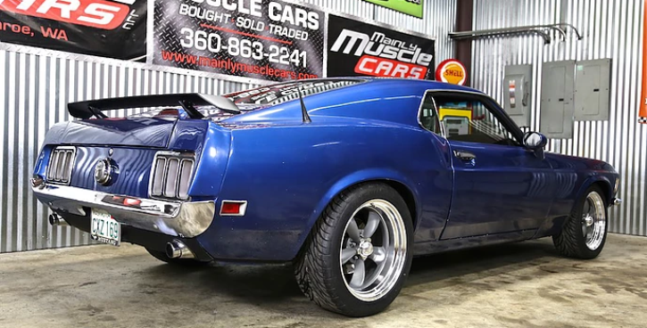 pro touring 1970 mustang 408 stroker