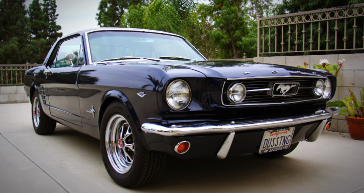 1966 ford mustang c-code restoration