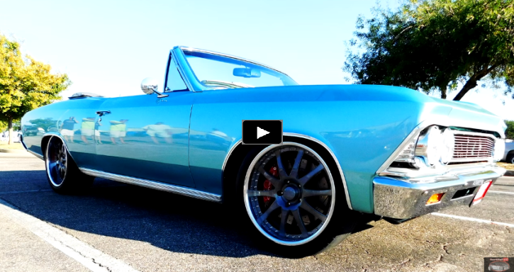 custom built 1966 chevy chevelle convertible
