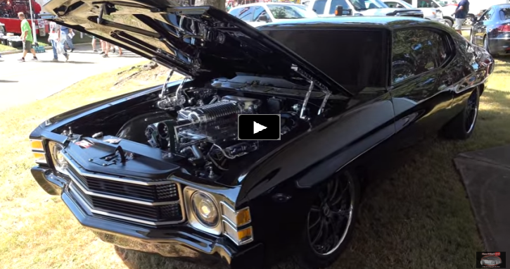 1972 chevy chevelle pro touring build