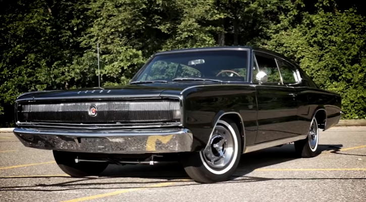 restored 1966 dodge charger 383 four barrel