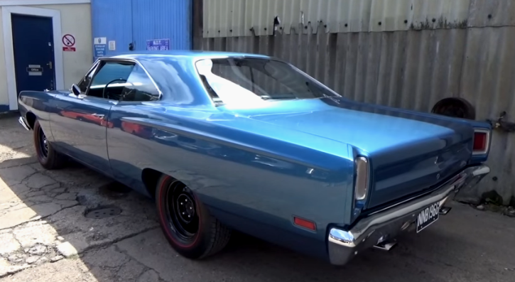 jamaican blue 1969 plymouth road runner a12 galen govier decoded