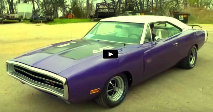 plum crazy 1970 dodge charger 440 six pack