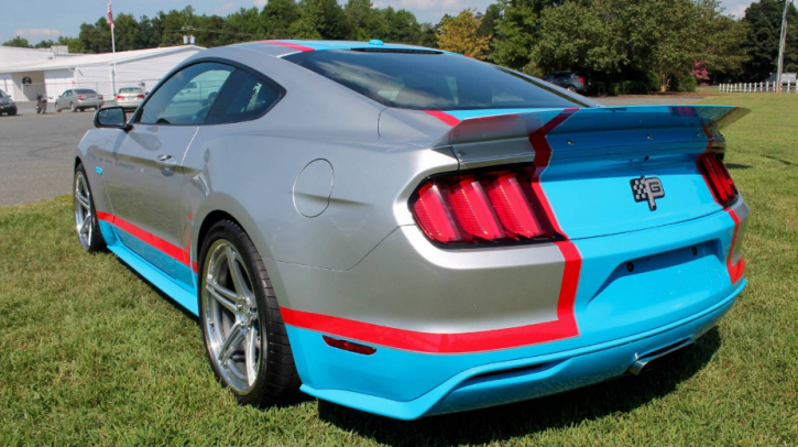 2017 ford mustang gt richard petty special edition