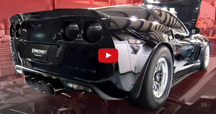 twin turbo vengeance corvette dyno