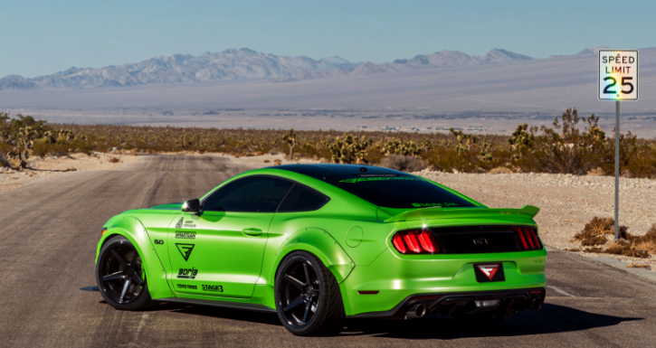 wide body 2016 ford mustang