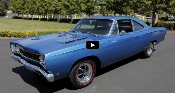 restored plymouth road runner 426 hemi 4-speed