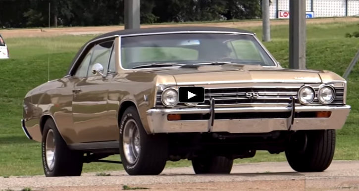 Granada Gold 1967 Chevelle SS | Hard Core Chevy | HOT CARS
