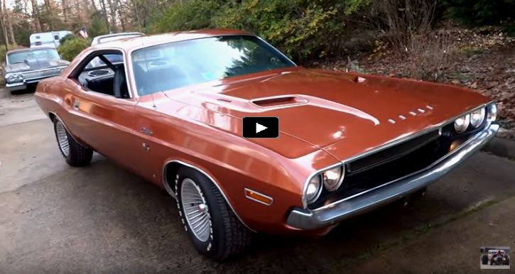 1970 dodge challenger 383 garage find