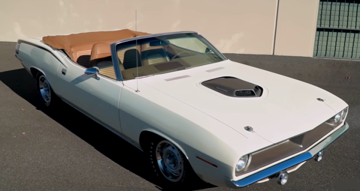 alpine white 1970 plymouth cuda 440 4 speed
