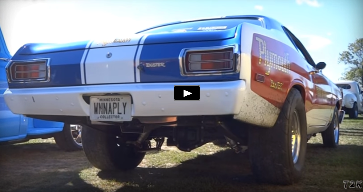 pro stock plymouth duster sox and martin tribute