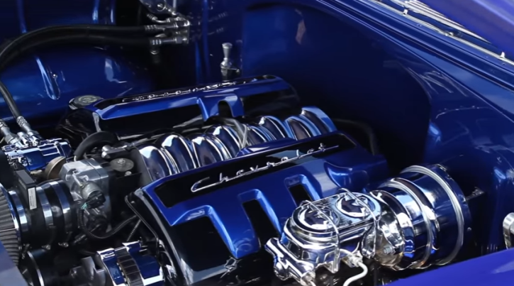 custom 1955 chevy 210 fuel injected ls1