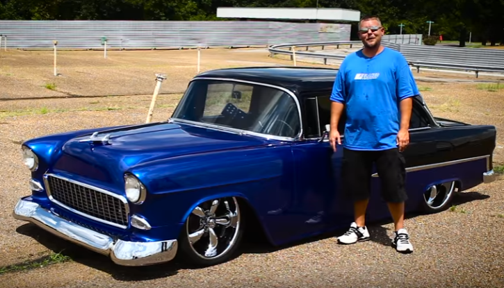 custom built 1955 chevy 210