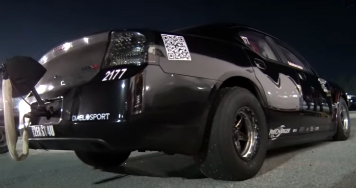 1500hp procharged dodge hemi charger drag racing
