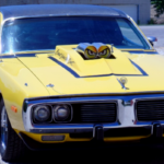 yellow_1973_dodge_charger
