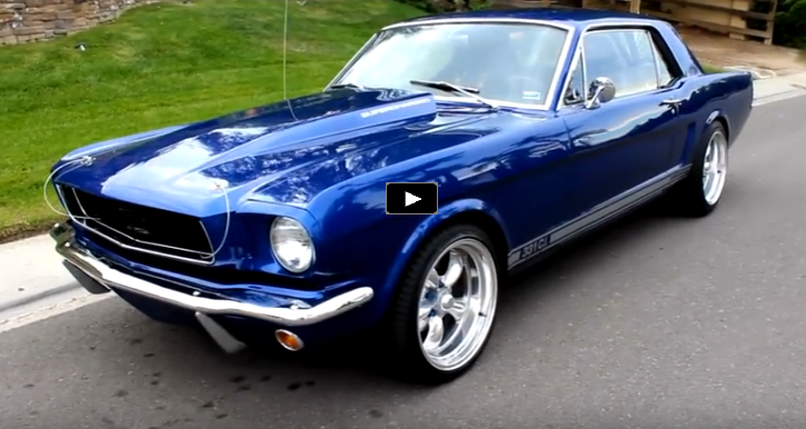 See This Supercharged 1966 Ford Mustang In Action Hot Cars