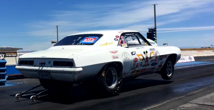 mickey curry camaro drag car for sale