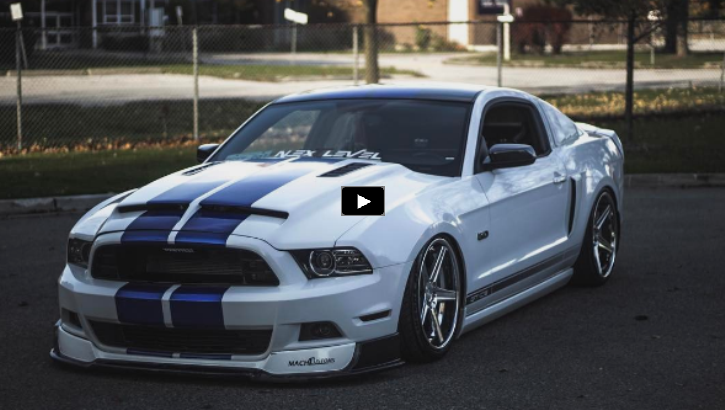 customized 2014 mustang gt/cs