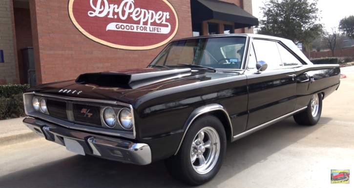true 1967 dodge coronet r/t 528 hemi v8